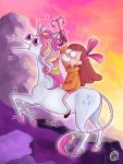 Mabel crossing the alps by Kkulkutauti