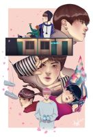 BTS | Spring Day by Lushies-Art