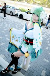 Onmyoji - Aoandon by Xeno-Photography