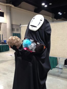 No Face + Tribbles = ?! by Sunnybrook1