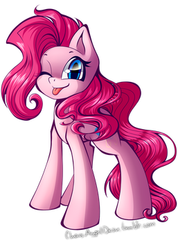 Pinkie the Earth Pony by ChaosAngelDesu