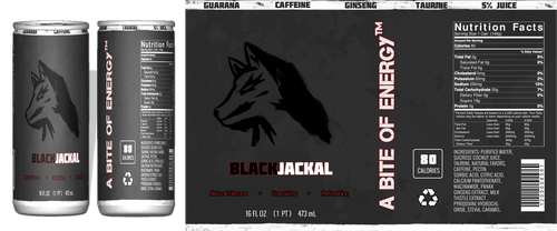 BlackJackal Energy Drink by Xpertfall