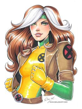 Megacon Rogue Commission by KelleeArt
