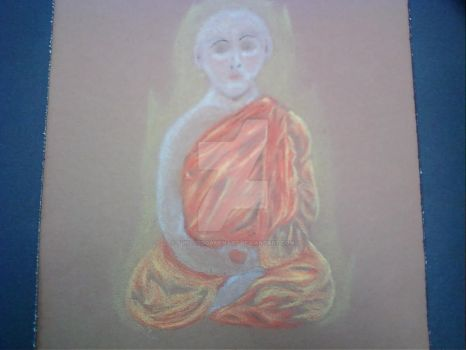Buddhist Monk by SunLordGameNArt