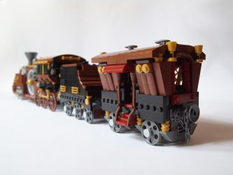 LEGO. Steam Train_2 by DwalinF
