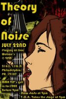 One of my bands Flyers by EzeKeiL