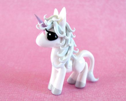 Mini Last Unicorn by DragonsAndBeasties