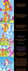 Smolder Says Goodnight by MLP-Silver-Quill