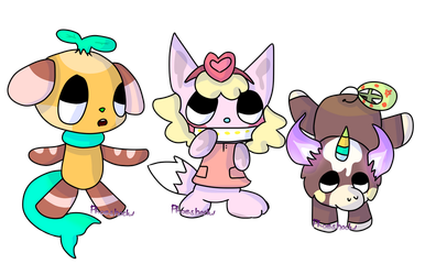 [HT-Like] Adoptables  [OPEN] by Phoeshock