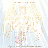 Auracorn Lore, Auracorn Divinity - Guardians by Crow-Faced