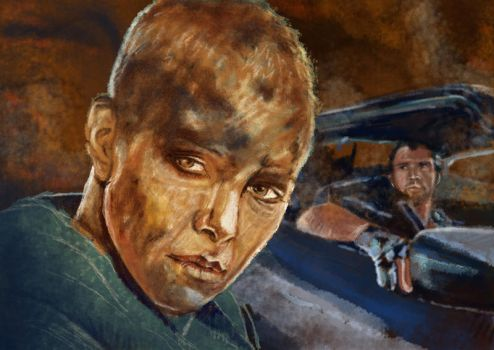 Mad Max Charlize by jade-starck
