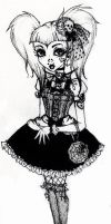 Gothic Lolita -commission- by chocolatehomicide