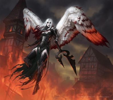 MtG: Avacyn The Purifier by namesjames