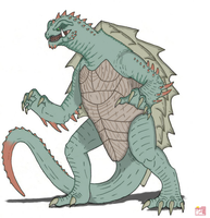 Gamera Neo:  Gamera by King-Edmarka