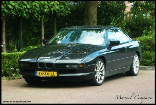 ErithdorPL 20 12 1990 BMW 850i By Compaan Art