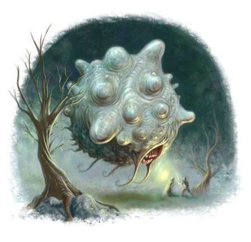 Blob Monster by ScottPurdy