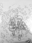 RWBY Rosegarden | Sketch Version by Corazon-Alro4