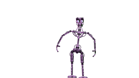 Endoskeleton 1 by Amirbelal