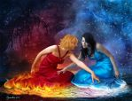 Fire and Ice by Cynnalia