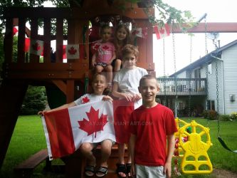 Proud Mini Canadians by Ayjah