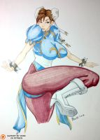 Chunli - Street Fighter by pillowds