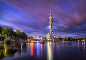 Munich, Olympiapark by alierturk