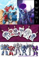 Selling TFP Charms and Prints by Uniformshark