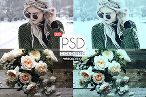 PSD Coloring 009 by vesaspring
