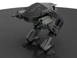 ED 209 from Robocop by Donvius