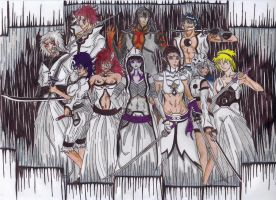 Arrancar OC Group Pic by blazewb