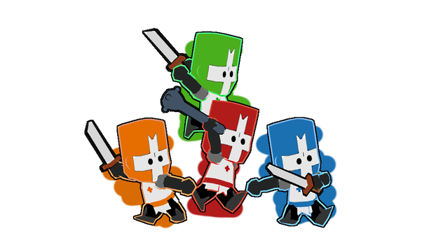 The Castle Crashers In 3D! by ord28