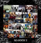 Maroon 5 Collage by h-o-l-z by maroon5Fans