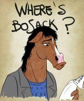Where's Bojack? by VanyPie