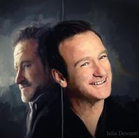 RIP Robin Williams 3 by JDewantiArt
