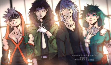 My Hero Academia - Boy Band version! by Banana-Banshee
