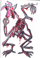 Mangled and Bloody (FNaF Mangle Fanart) by The-Heraldic-Sword