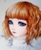 Copic sketch of a doll by KaiMiroki