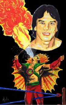 Ricky The Dragon Steamboat by TonyMiello