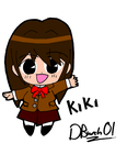 Mascot contest entry: Kiki by DBurch01