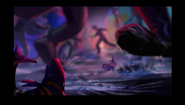 Keyframe On the Desk (for animated movie project) by monsta87
