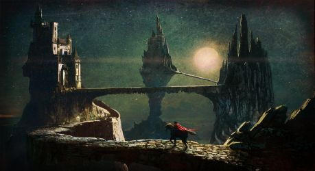 Into the castle by Edli