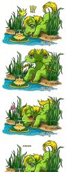 Leaper and the Frog- MiniComic by AnnieMsson