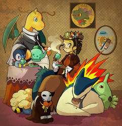 Victorian Pokemon by Laurielle-Maven