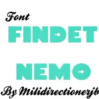 Font Findet Nemo by MiliDirectionerJB