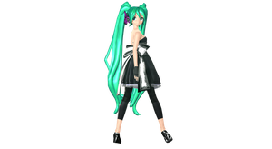 MMD DT Magnet Miku Wip 2 by willianbrasil