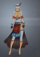 (closed) Auction Adopt - Outfit 441 by CherrysDesigns