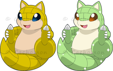 +027 -Sandshrew+ by Cachomon