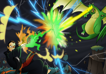 A Battle of Two Sorcerers by TheUnisonReturns