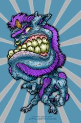 Mad Mutated Mutant by larryboos