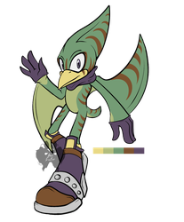 Male Mobian Pteranodon Adopt (CLOSED) by AoiFoxtrot